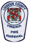 Loudoun County Virginia Fire Marshal Patch