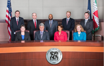 Photo of Loudoun County Board of Supervisors on Dais