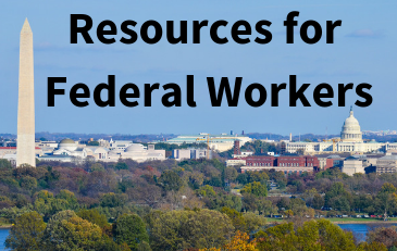 Graphic Image of Resources for Federal Workers