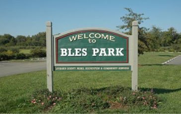 Photo of Bles Park Sign
