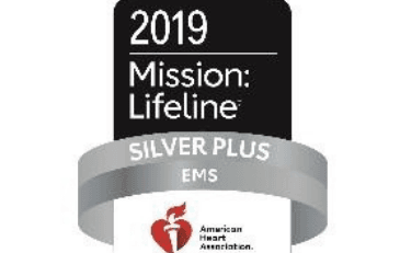 Image of American Heart Association award logo