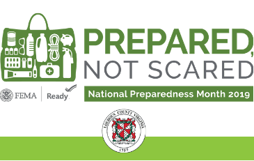 Image of 2019 National Preparedness Month Logo