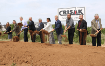 Image of Ashburn Senior Center Groundbreaking