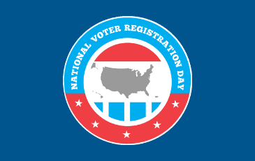 Image of National Voter Registration Day Logo