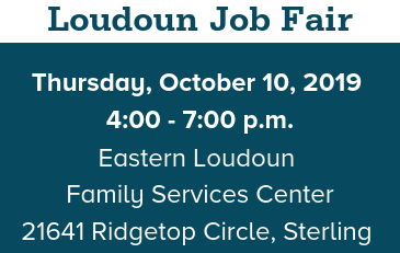 Image of Loudoun Job Fair Graphic