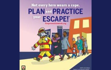 Fire prevention month 2019