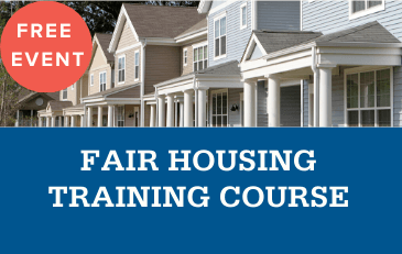 Image of Fair Housing Training Graphic