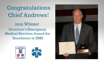 Congratulations Chief Andrews!