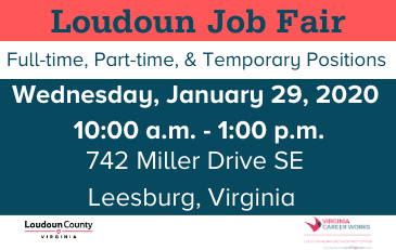 Image of graphic for January 29, 2020, job fair