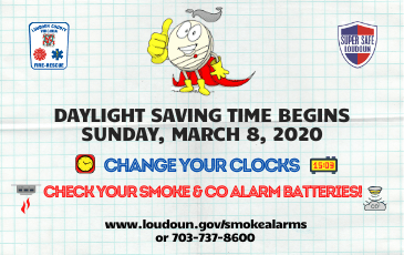 LC-CFRS Change Your Clocks, Check Your Batteries NF