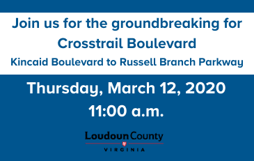 Image of Crosstrail Boulevard Groundbreaking Slide