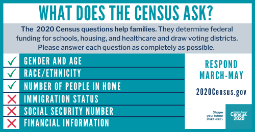 Questions on the 2020 Census 2