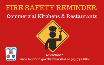Fire Safety Restaurant Newsflash