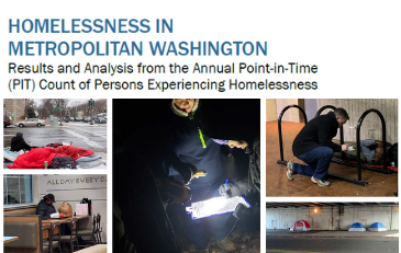 Image of cover of homeless report
