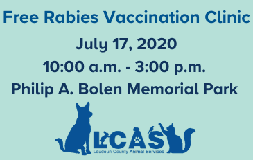 Image of Free Rabies Vaccination Clinic Graphic