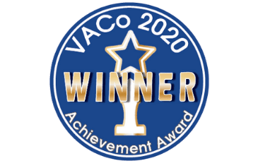 Image of Virginia Association of Counties Achievement Award Badge
