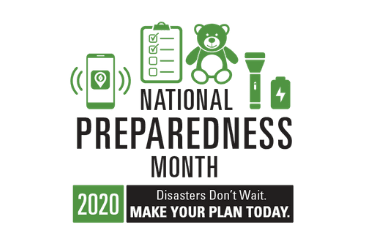 Image of National Preparedness Month Logo